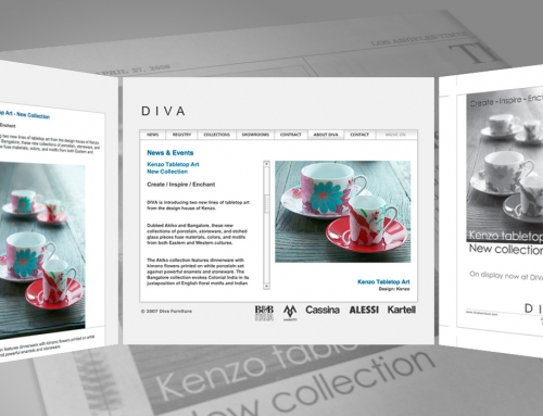 Design multi-canale per Diva