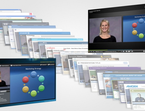 Webcast UI design