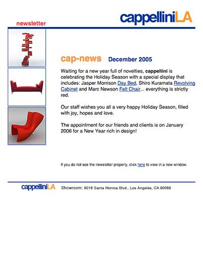 CappelliniLA Newsletter