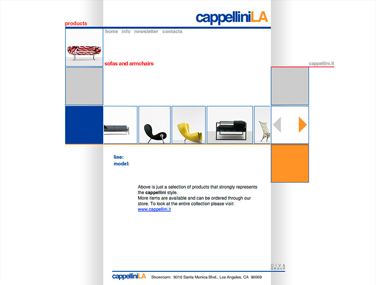 CappelliniLA website