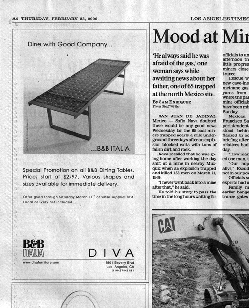 Diva ads - B&B Italia
