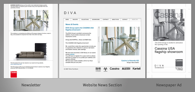 Diva multi channel - Cassina