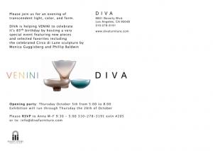 Diva Postcard Venini