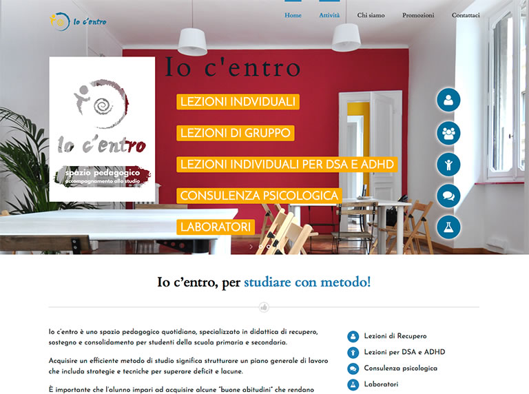 Io c'entro website