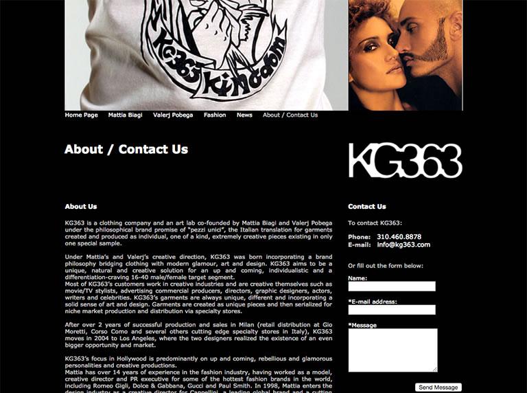 Kg363 website